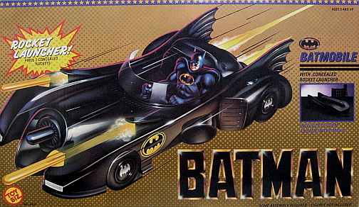 Batman 1989 Batmobile Toy Batman quot Batmobile quot w